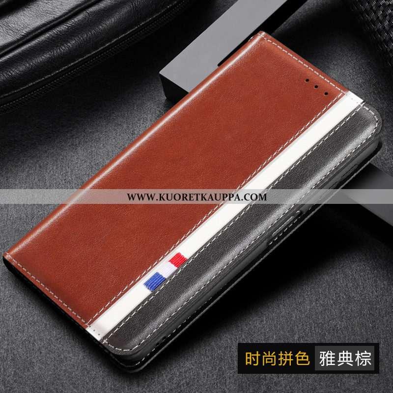 Kuori Samsung Galaxy A10s, Kuoret Samsung Galaxy A10s, Kotelo Samsung Galaxy A10s Nahkakuori Aito Na