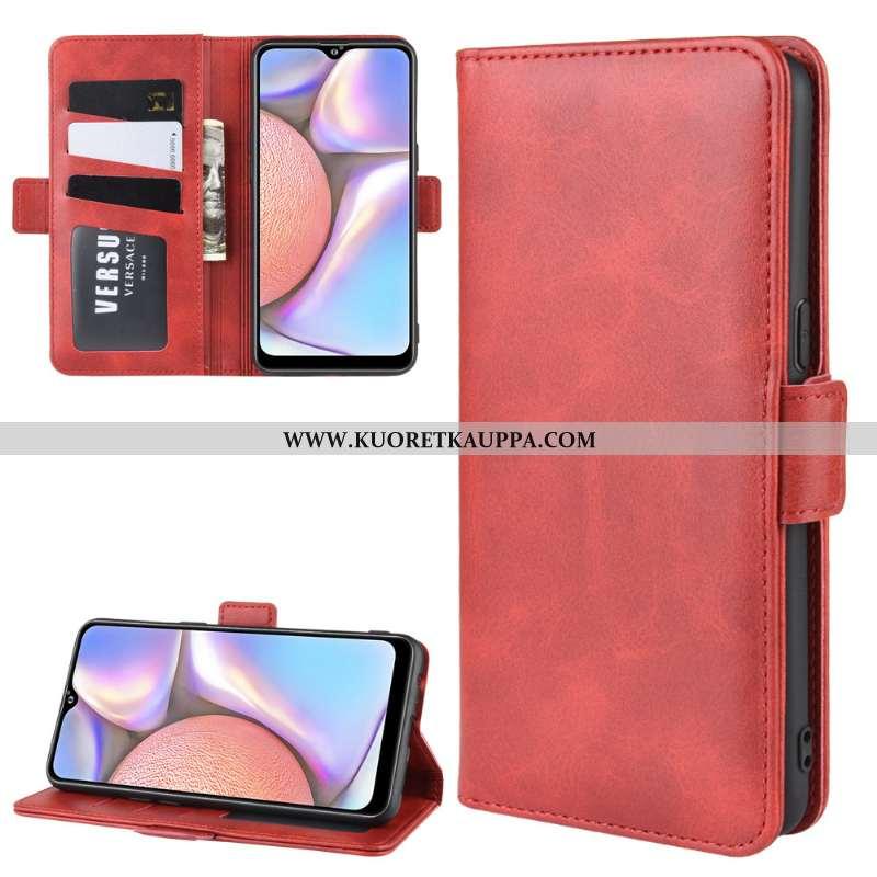 Kuori Samsung Galaxy A10s, Kuoret Samsung Galaxy A10s, Kotelo Samsung Galaxy A10s Nahkakuori Suojaus