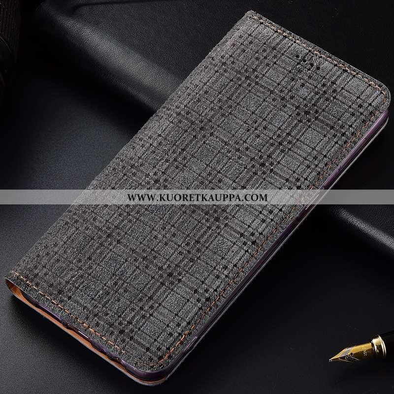 Kuori Samsung Galaxy A10s, Kuoret Samsung Galaxy A10s, Kotelo Samsung Galaxy A10s Suojaus Aito Nahka