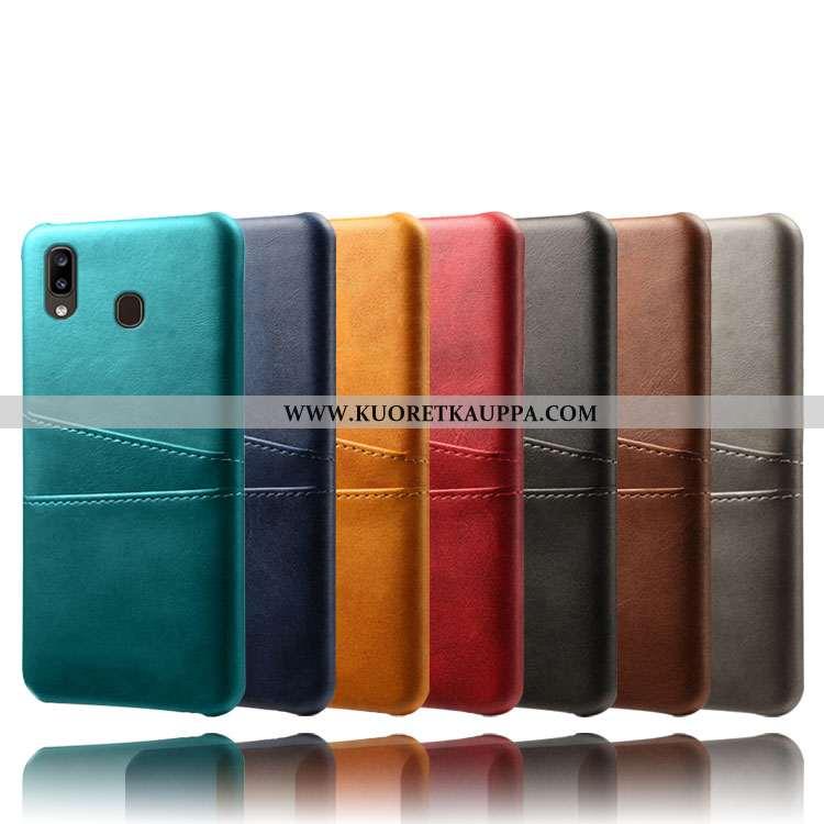Kuori Samsung Galaxy A20e, Kuoret Samsung Galaxy A20e, Kotelo Samsung Galaxy A20e Kukkakuvio Suojaus