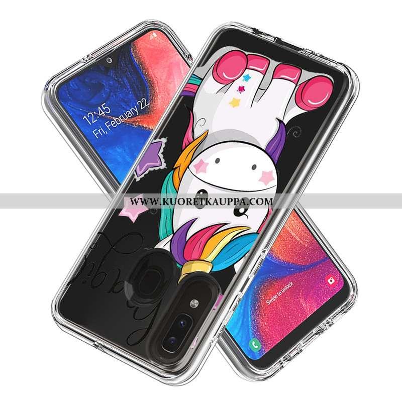 Kuori Samsung Galaxy A20e, Kuoret Samsung Galaxy A20e, Kotelo Samsung Galaxy A20e Sarjakuva Kortti T
