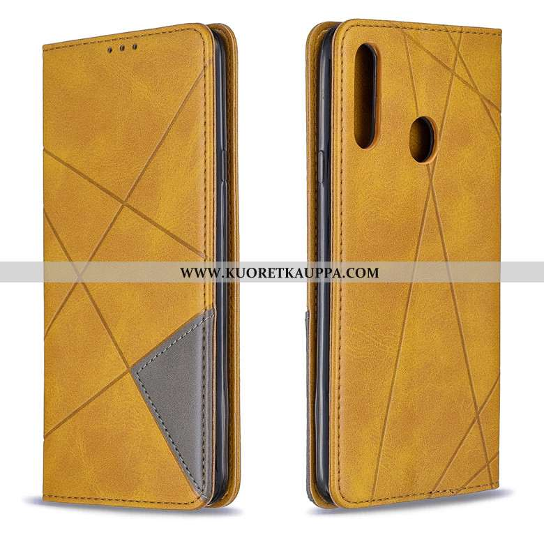 Kuori Samsung Galaxy A20s, Kuoret Samsung Galaxy A20s, Kotelo Samsung Galaxy A20s Nahkakuori Salkku