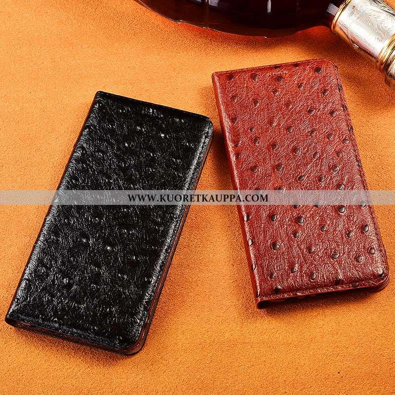 Kuori Samsung Galaxy A20s, Kuoret Samsung Galaxy A20s, Kotelo Samsung Galaxy A20s Pesty Suede Aito N