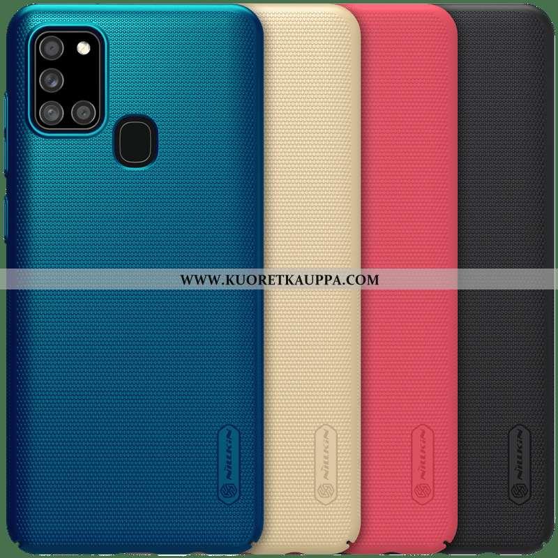 Kuori Samsung Galaxy A21s, Kuoret Samsung Galaxy A21s, Kotelo Samsung Galaxy A21s Pesty Suede Valo K