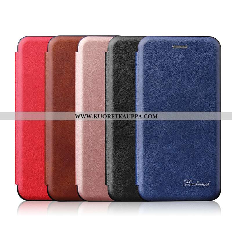 Kuori Samsung Galaxy A40, Kuoret Samsung Galaxy A40, Kotelo Samsung Galaxy A40 Suojaus Nahkakuori Tä