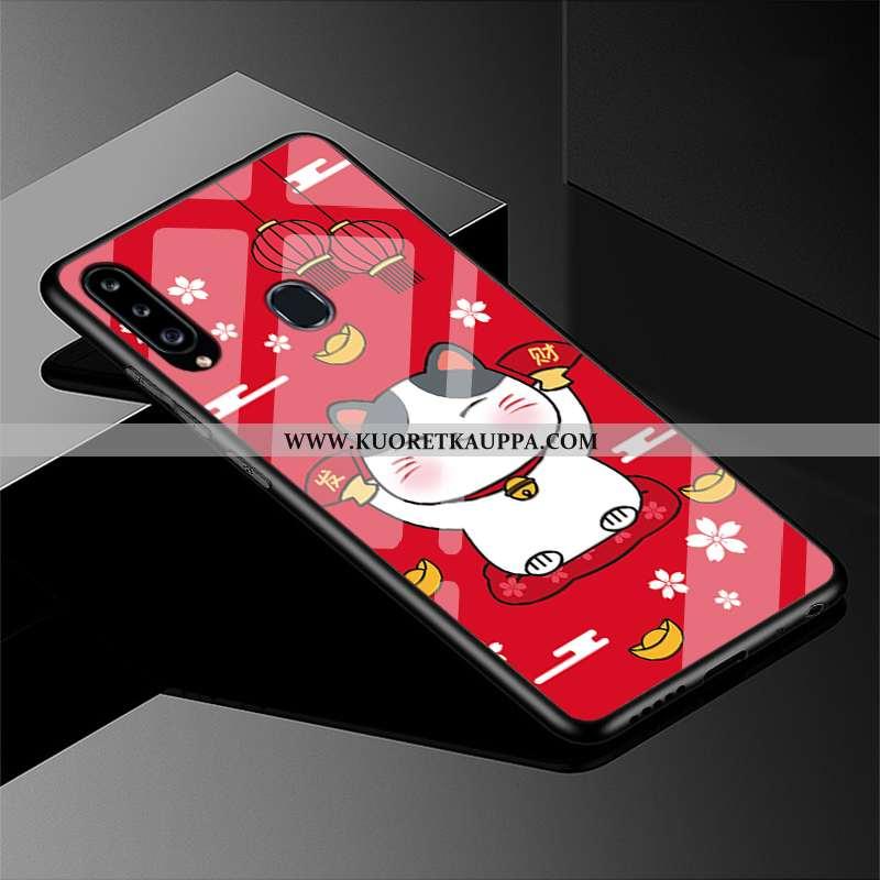 Kuori Samsung Galaxy A40s, Kuoret Samsung Galaxy A40s, Kotelo Samsung Galaxy A40s Suojaus Lasi Puhel