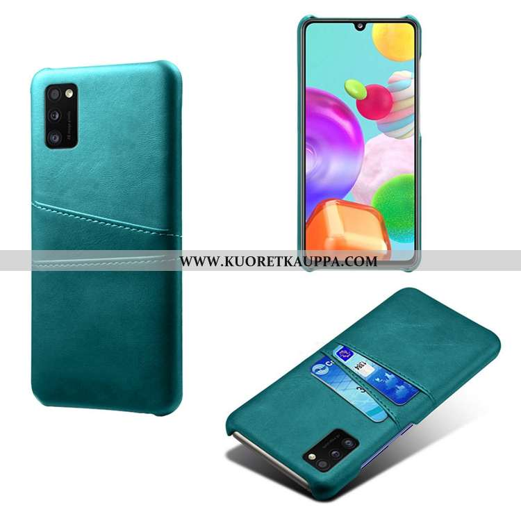 Kuori Samsung Galaxy A41, Kuoret Samsung Galaxy A41, Kotelo Samsung Galaxy A41 Nahka Suojaus Murtuma