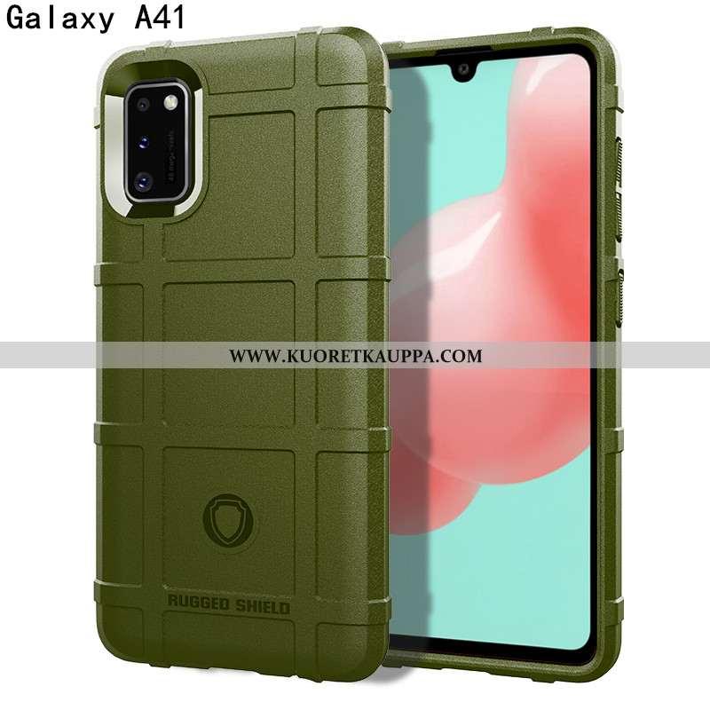 Kuori Samsung Galaxy A41, Kuoret Samsung Galaxy A41, Kotelo Samsung Galaxy A41 Silikoni Suojaus Puhe