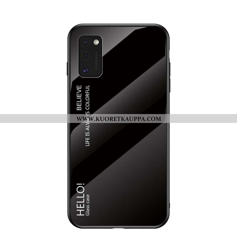 Kuori Samsung Galaxy A41, Kuoret Samsung Galaxy A41, Kotelo Samsung Galaxy A41 Suojaus Lasi Silikoni