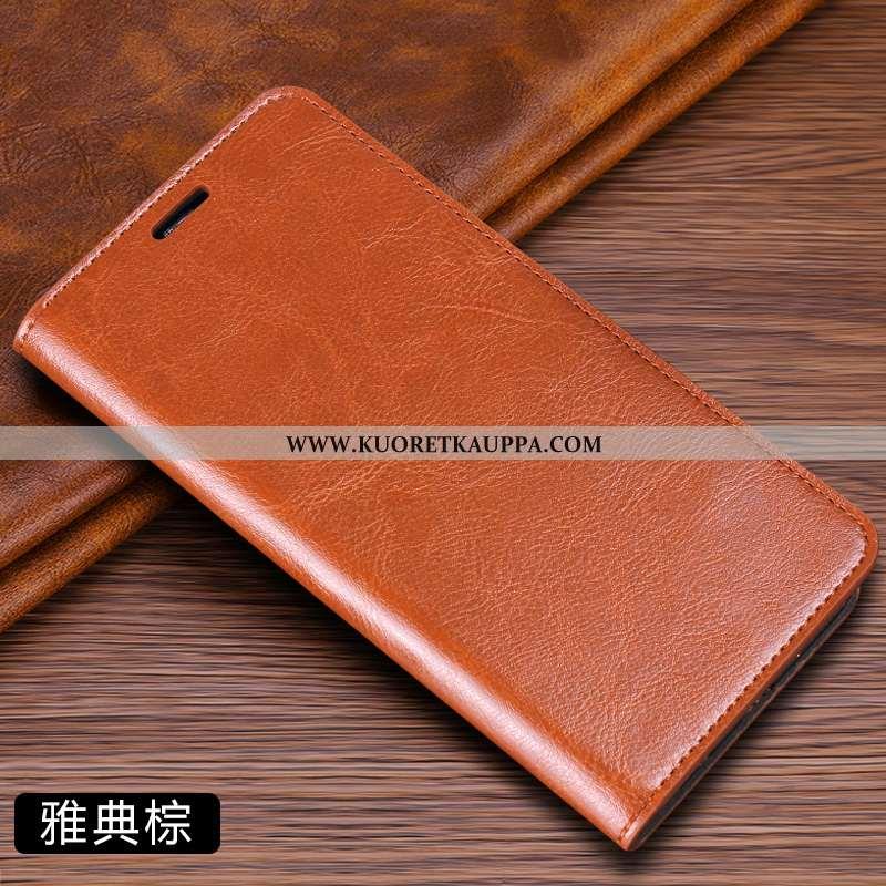 Kuori Samsung Galaxy A50, Kuoret Samsung Galaxy A50, Kotelo Samsung Galaxy A50 Nahkakuori Aito Nahka
