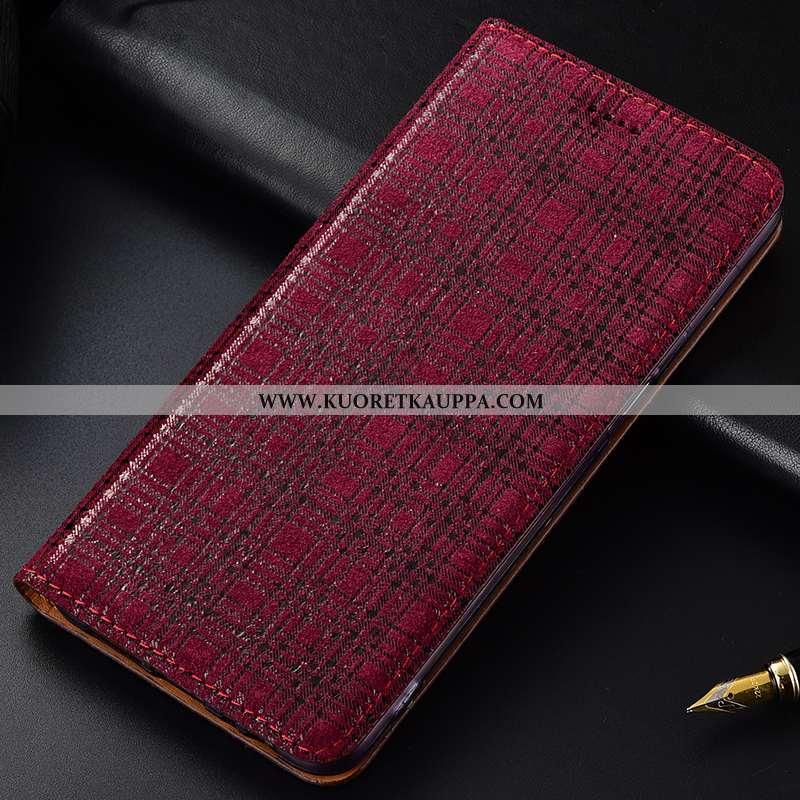 Kuori Samsung Galaxy A50, Kuoret Samsung Galaxy A50, Kotelo Samsung Galaxy A50 Nahkakuori Suojaus Mu