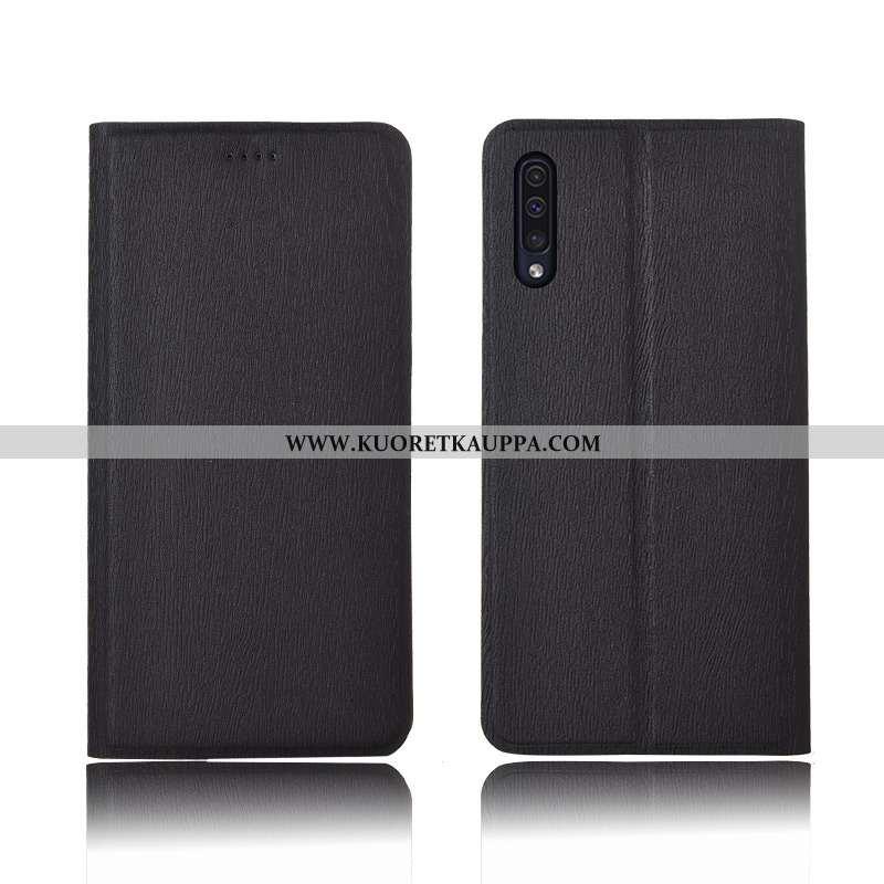Kuori Samsung Galaxy A50, Kuoret Samsung Galaxy A50, Kotelo Samsung Galaxy A50 Suojaus Nahkakuori Uu