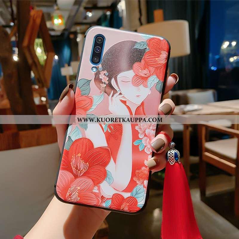 Kuori Samsung Galaxy A50, Kuoret Samsung Galaxy A50, Kotelo Samsung Galaxy A50 Valo Silikoni Tähti P