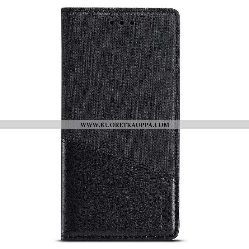 Kuori Samsung Galaxy A50s, Kuoret Samsung Galaxy A50s, Kotelo Samsung Galaxy A50s Nahkakuori Musta L