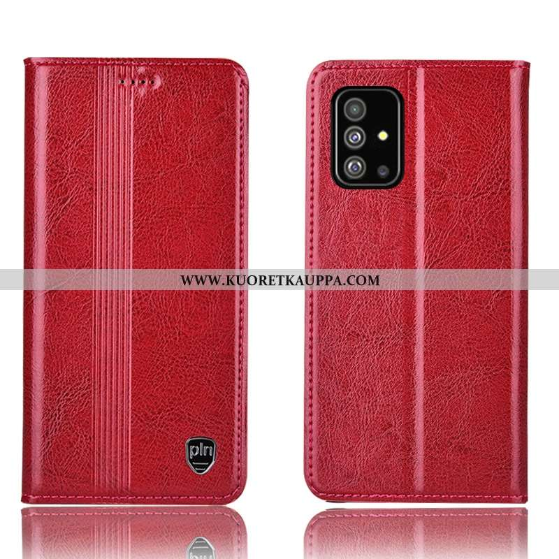 Kuori Samsung Galaxy A51, Kuoret Samsung Galaxy A51, Kotelo Samsung Galaxy A51 Aito Nahka Suojaus Al