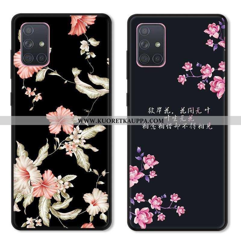 Kuori Samsung Galaxy A51, Kuoret Samsung Galaxy A51, Kotelo Samsung Galaxy A51 Lasi Luova Suojaus Pe