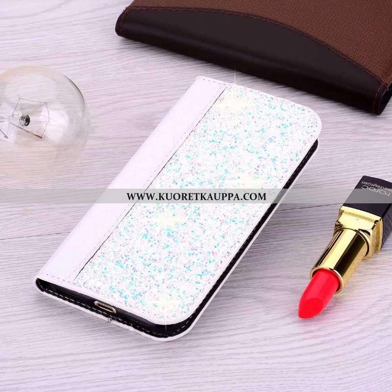 Kuori Samsung Galaxy A51, Kuoret Samsung Galaxy A51, Kotelo Samsung Galaxy A51 Nahkakuori Kukkakuvio