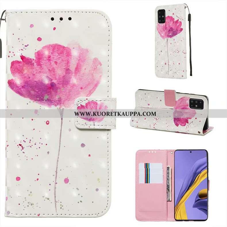Kuori Samsung Galaxy A51, Kuoret Samsung Galaxy A51, Kotelo Samsung Galaxy A51 Nahkakuori Silikoni M
