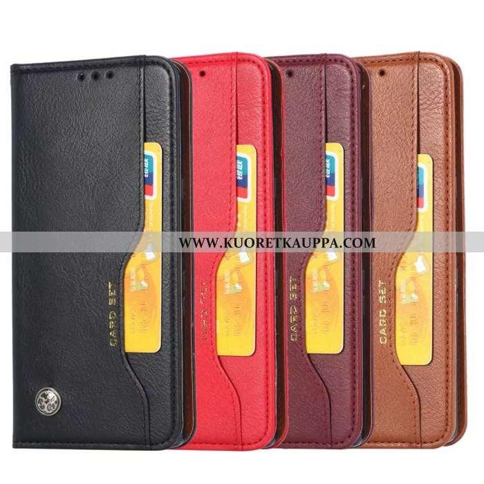 Kuori Samsung Galaxy A51, Kuoret Samsung Galaxy A51, Kotelo Samsung Galaxy A51 Nahkakuori Suojaus Uu