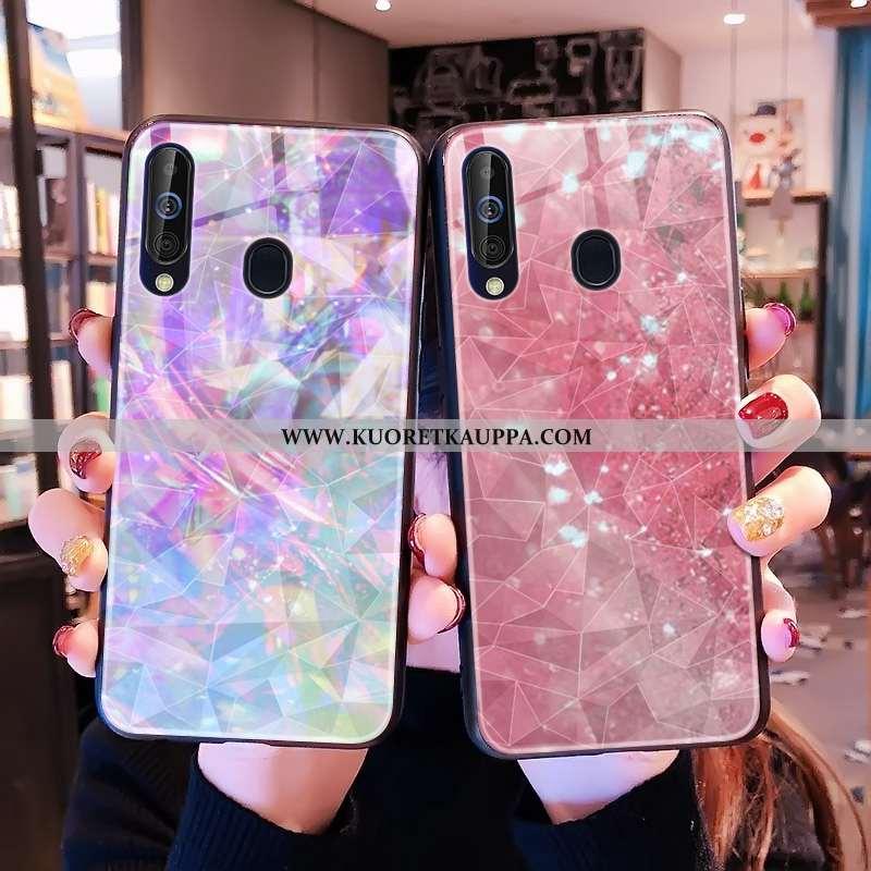 Kuori Samsung Galaxy A60, Kuoret Samsung Galaxy A60, Kotelo Samsung Galaxy A60 Kukkakuvio Net Red Ti