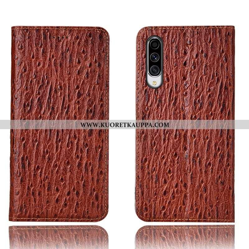 Kuori Samsung Galaxy A70s, Kuoret Samsung Galaxy A70s, Kotelo Samsung Galaxy A70s Nahkakuori Suojaus