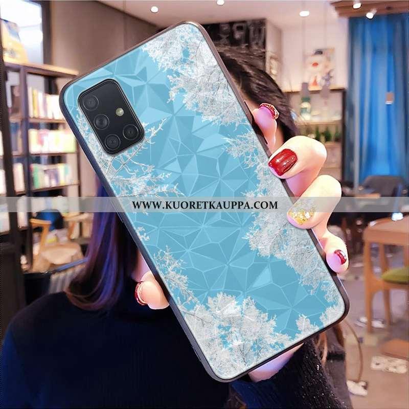 Kuori Samsung Galaxy A71, Kuoret Samsung Galaxy A71, Kotelo Samsung Galaxy A71 Kukkakuvio Puhelimen