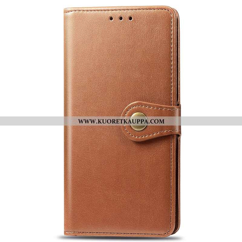 Kuori Samsung Galaxy A71, Kuoret Samsung Galaxy A71, Kotelo Samsung Galaxy A71 Nahkakuori Simpukka K