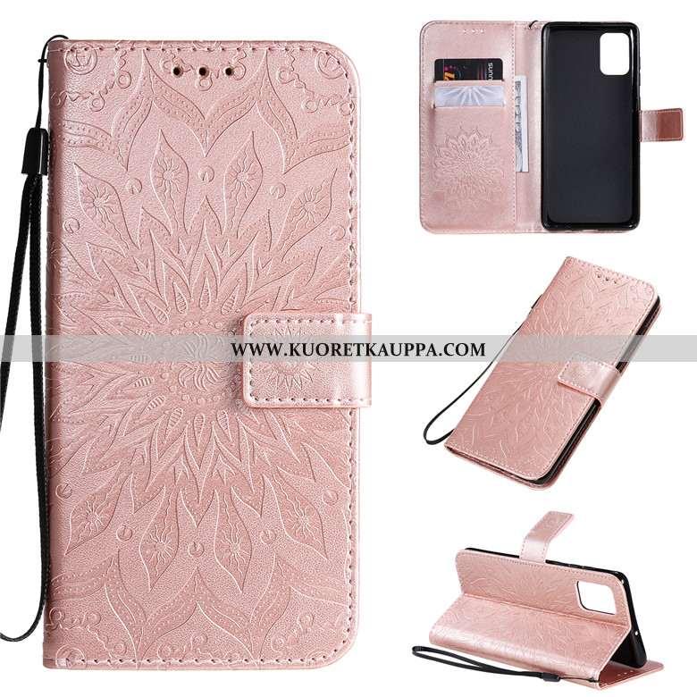 Kuori Samsung Galaxy A71, Kuoret Samsung Galaxy A71, Kotelo Samsung Galaxy A71 Nahkakuori Suojaus Ku