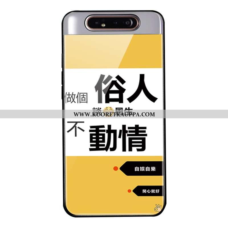 Kuori Samsung Galaxy A80, Kuoret Samsung Galaxy A80, Kotelo Samsung Galaxy A80 Lasi Pehmeä Neste Kel