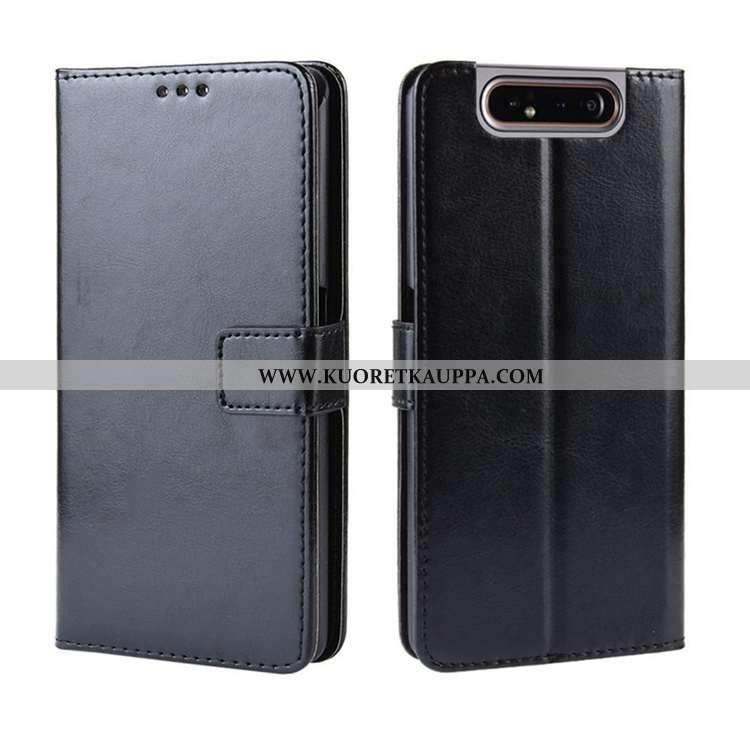 Kuori Samsung Galaxy A80, Kuoret Samsung Galaxy A80, Kotelo Samsung Galaxy A80 Salkku Nahkakuori Per