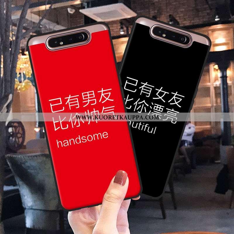 Kuori Samsung Galaxy A80, Kuoret Samsung Galaxy A80, Kotelo Samsung Galaxy A80 Suojaus Luova Sarjaku