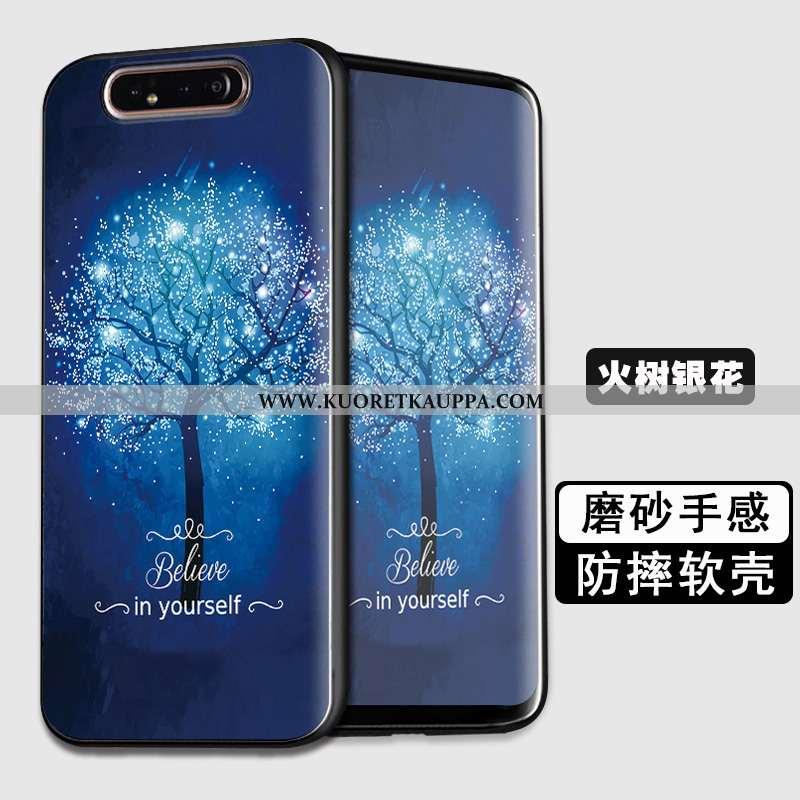 Kuori Samsung Galaxy A80, Kuoret Samsung Galaxy A80, Kotelo Samsung Galaxy A80 Suojaus Suuntaus Pehm