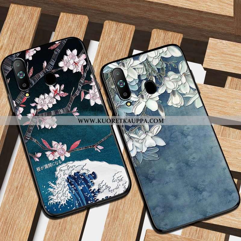 Kuori Samsung Galaxy A8s, Kuoret Samsung Galaxy A8s, Kotelo Samsung Galaxy A8s Suojaus Pesty Suede A