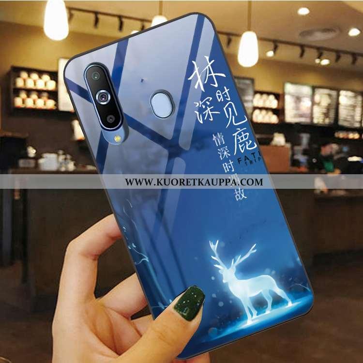 Kuori Samsung Galaxy A8s, Kuoret Samsung Galaxy A8s, Kotelo Samsung Galaxy A8s Suojaus Pesty Suede P