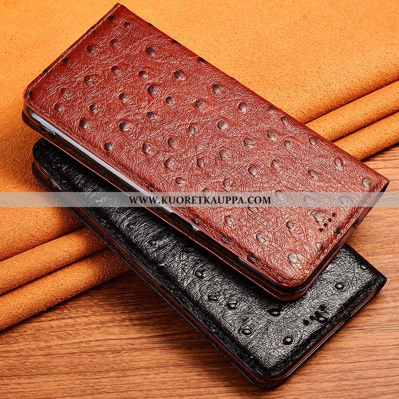 Kuori Samsung Galaxy A90 5g, Kuoret Samsung Galaxy A90 5g, Kotelo Samsung Galaxy A90 5g Aito Nahka K