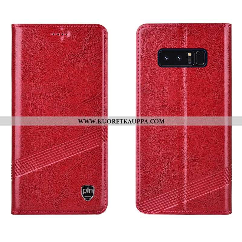 Kuori Samsung Galaxy Note 8, Kuoret Samsung Galaxy Note 8, Kotelo Samsung Galaxy Note 8 Nahkakuori S