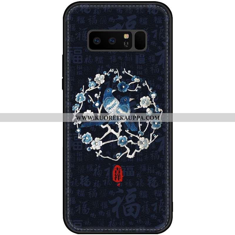 Kuori Samsung Galaxy Note 8, Kuoret Samsung Galaxy Note 8, Kotelo Samsung Galaxy Note 8 Valo Nahkaku