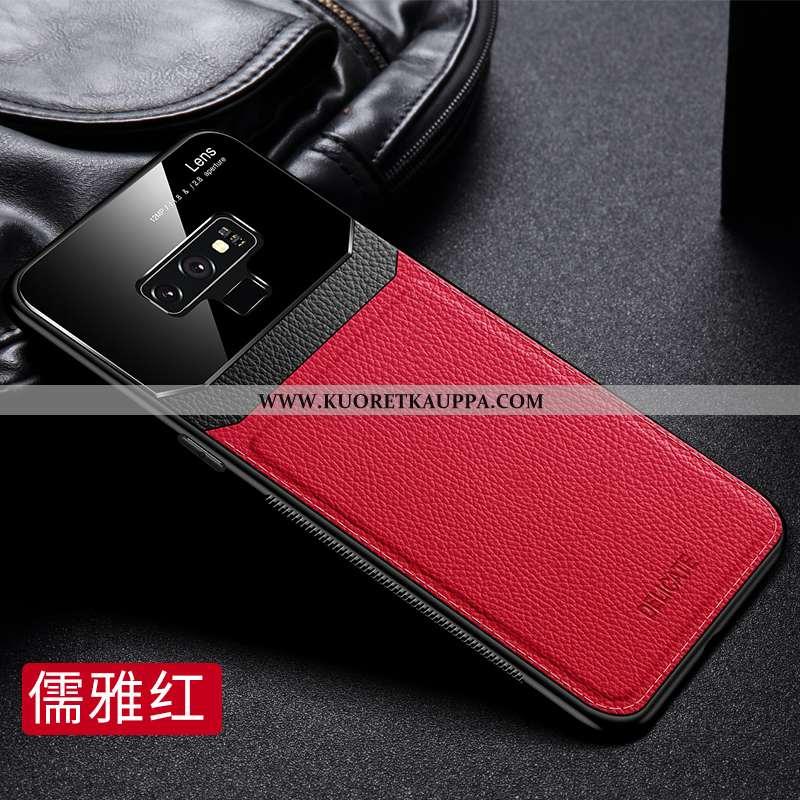 Kuori Samsung Galaxy Note 9, Kuoret Samsung Galaxy Note 9, Kotelo Samsung Galaxy Note 9 Lasi Nahkaku