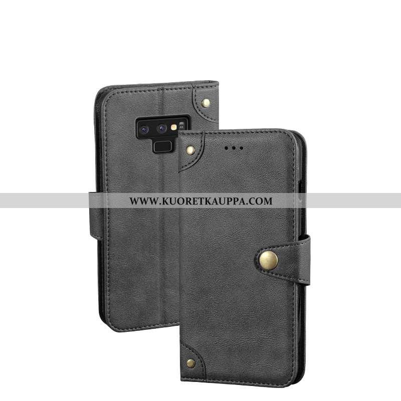Kuori Samsung Galaxy Note 9, Kuoret Samsung Galaxy Note 9, Kotelo Samsung Galaxy Note 9 Suojaus Nahk