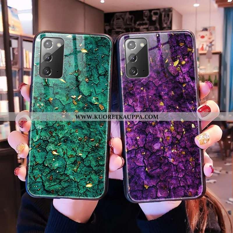 Kuori Samsung Galaxy Note20, Kuoret Samsung Galaxy Note20, Kotelo Samsung Galaxy Note20 Lasi Kukkaku