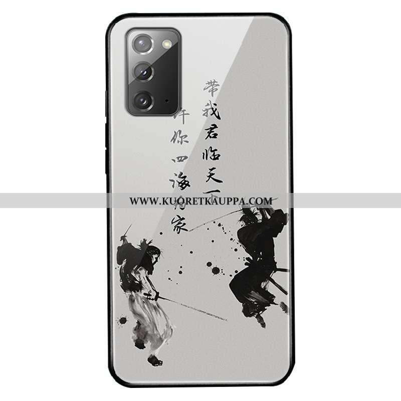Kuori Samsung Galaxy Note20, Kuoret Samsung Galaxy Note20, Kotelo Samsung Galaxy Note20 Lasi Persoon