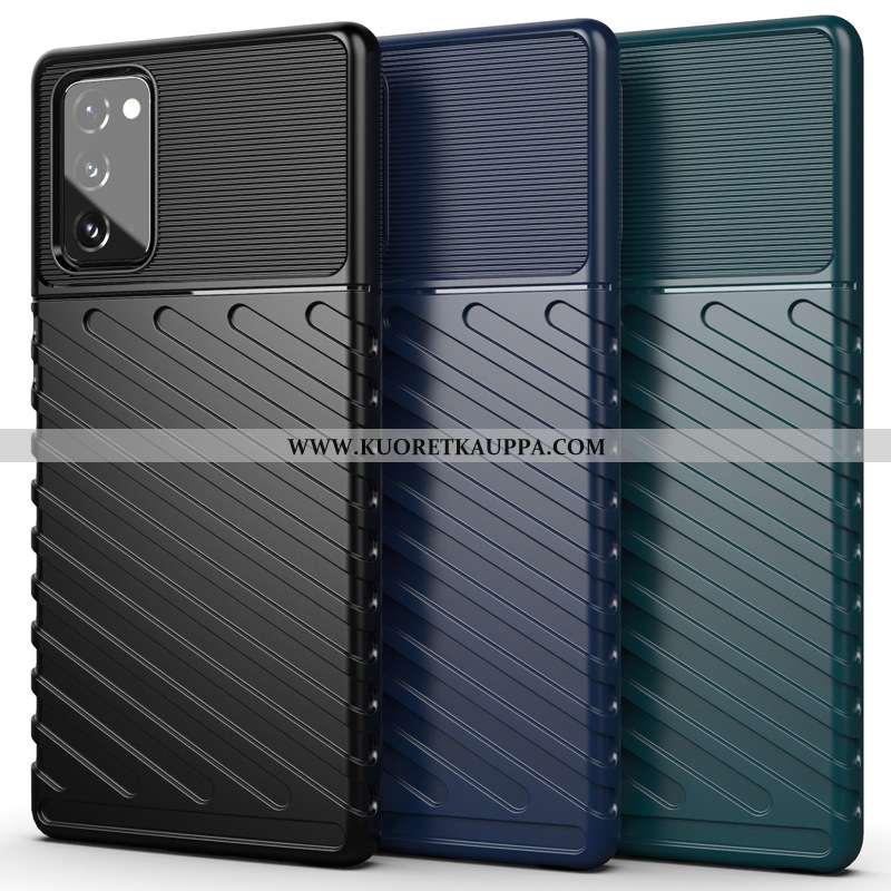 Kuori Samsung Galaxy Note20, Kuoret Samsung Galaxy Note20, Kotelo Samsung Galaxy Note20 Silikoni Mus