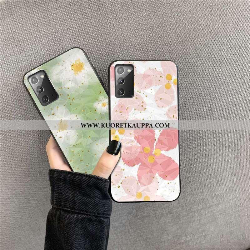 Kuori Samsung Galaxy Note20, Kuoret Samsung Galaxy Note20, Kotelo Samsung Galaxy Note20 Timantti Jau