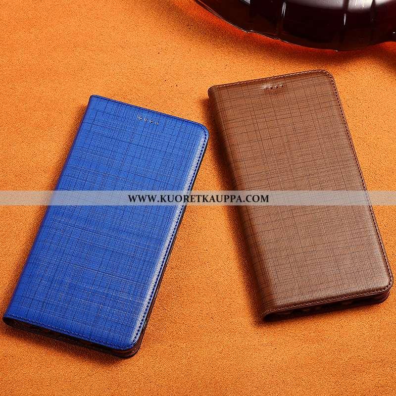 Kuori Samsung Galaxy S10+, Kuoret Samsung Galaxy S10+, Kotelo Samsung Galaxy S10+ Aito Nahka Pehmeä