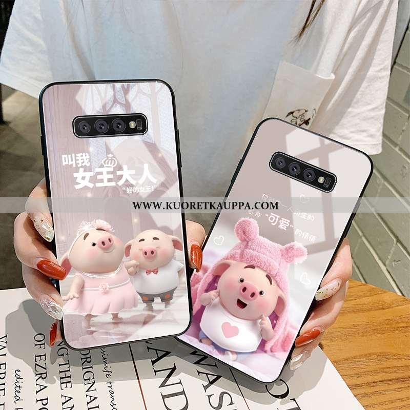Kuori Samsung Galaxy S10+, Kuoret Samsung Galaxy S10+, Kotelo Samsung Galaxy S10+ Lasi Persoonallisu