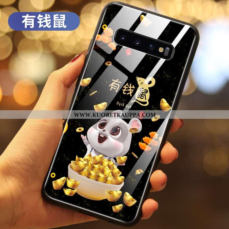 Kuori Samsung Galaxy S10+, Kuoret Samsung Galaxy S10+, Kotelo Samsung Galaxy S10+ Lasi Suojaus Rikka