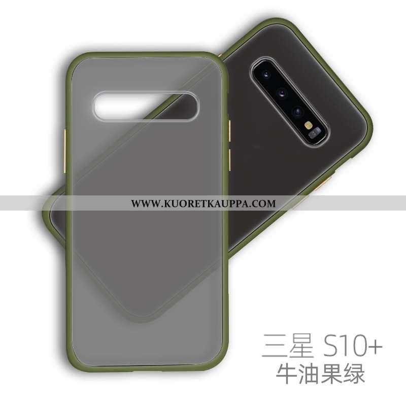 Kuori Samsung Galaxy S10+, Kuoret Samsung Galaxy S10+, Kotelo Samsung Galaxy S10+ Pesty Suede Suunta