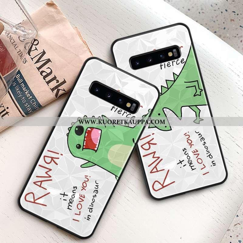 Kuori Samsung Galaxy S10, Kuoret Samsung Galaxy S10, Kotelo Samsung Galaxy S10 Suojaus Kukkakuvio Ra