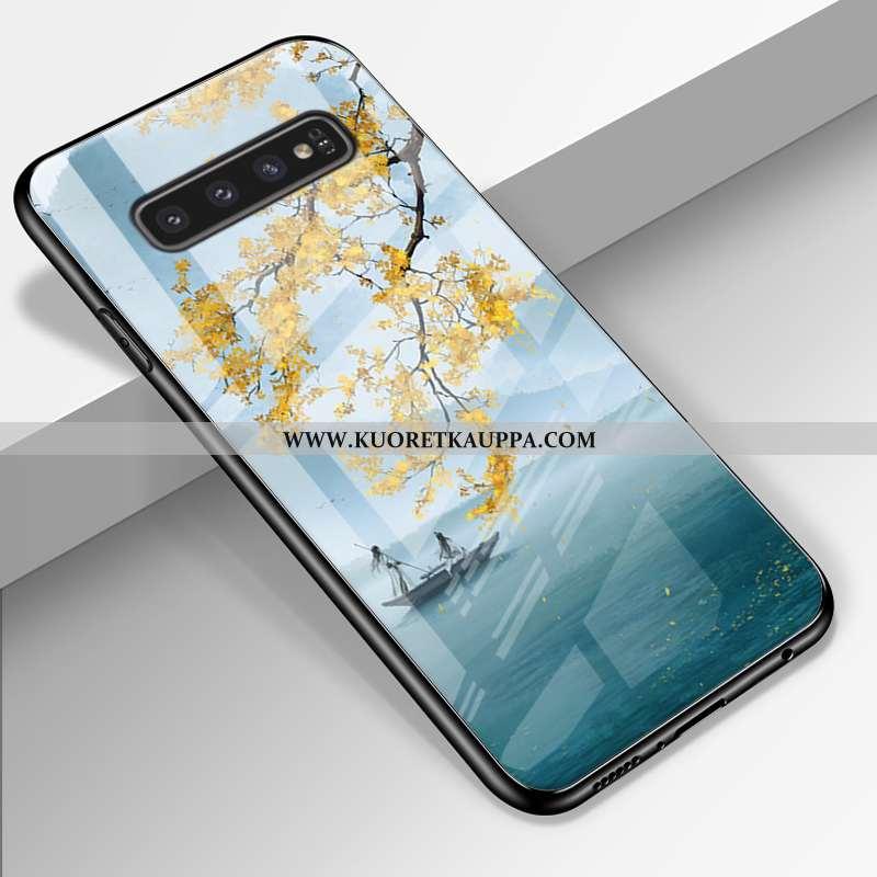 Kuori Samsung Galaxy S10+, Kuoret Samsung Galaxy S10+, Kotelo Samsung Galaxy S10+ Suojaus Lasi Silik