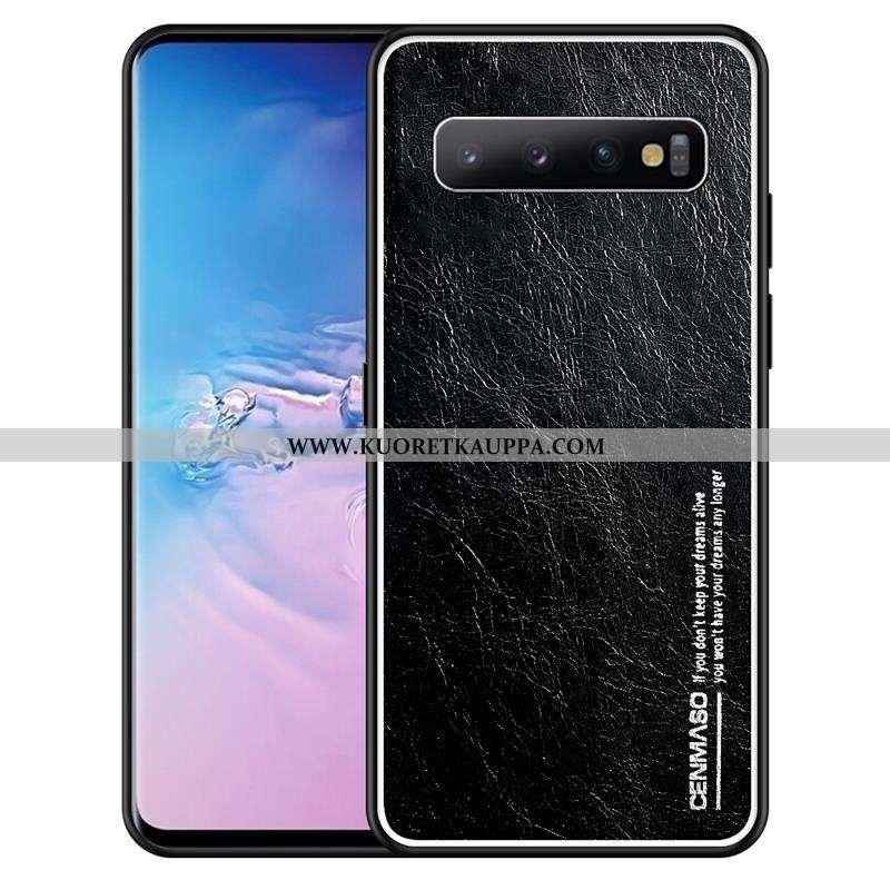 Kuori Samsung Galaxy S10, Kuoret Samsung Galaxy S10, Kotelo Samsung Galaxy S10 Suojaus Pesty Suede U